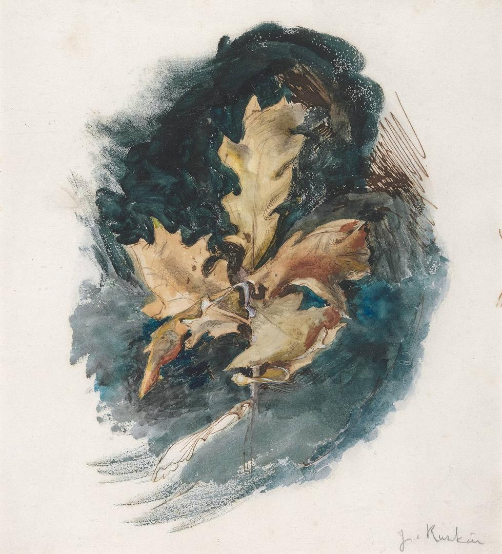 'Unto This Last': Two Hundred Years of John Ruskin, Curator Tour blurred background